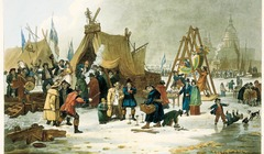 Frost fair festival, Museum of London Docklands